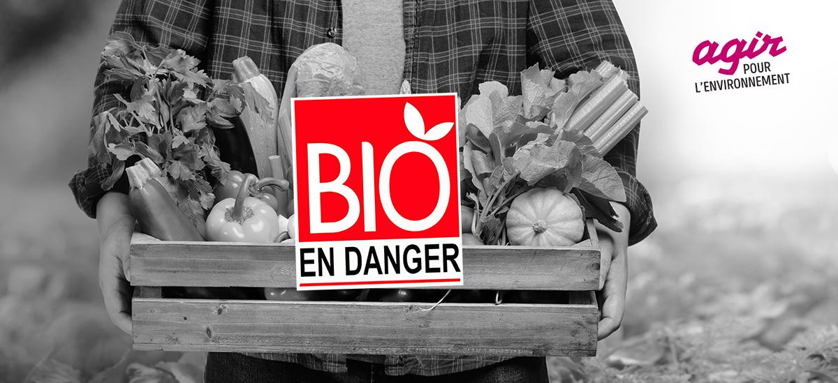 Refusons la baisse des aides à l'agriculture biologique !